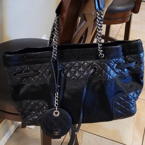Chanel leather and pony hair bag need to sell